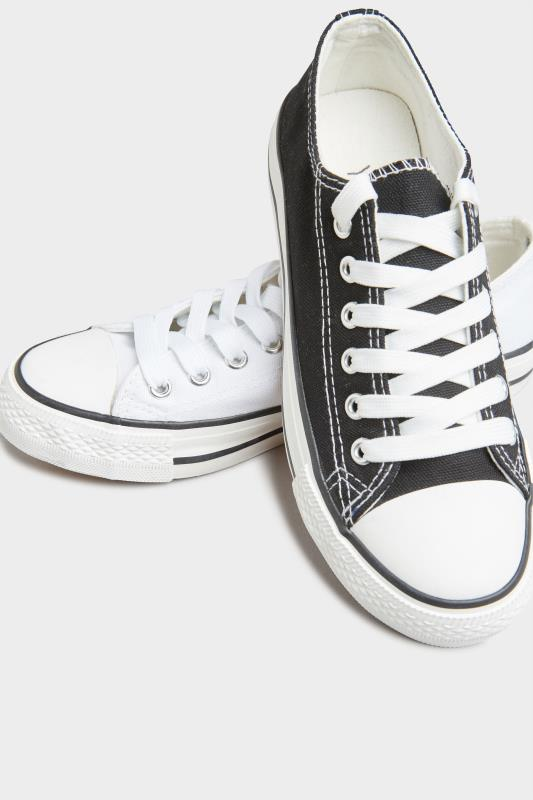 White Canvas Low Trainers In Wide Fit_E.jpg