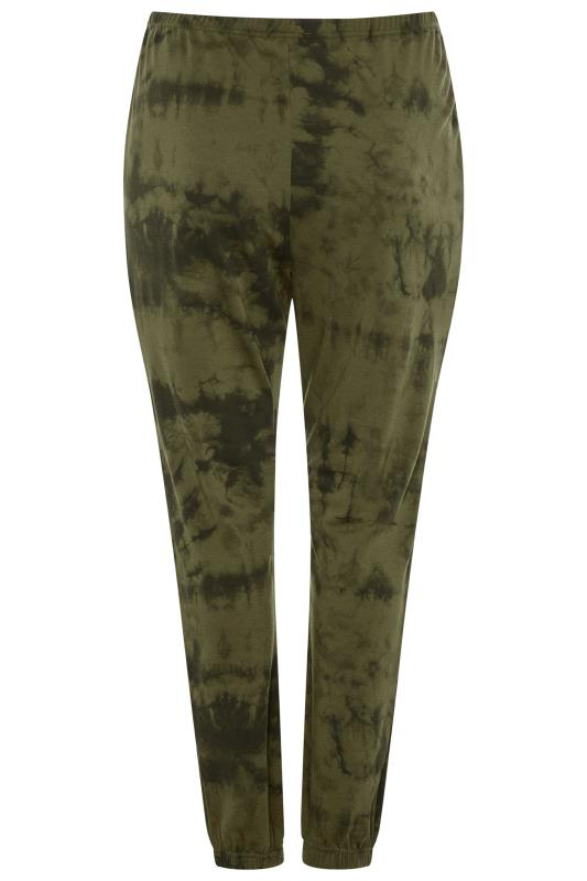 LIMITED COLLECTION Khaki Tie Dye Joggers