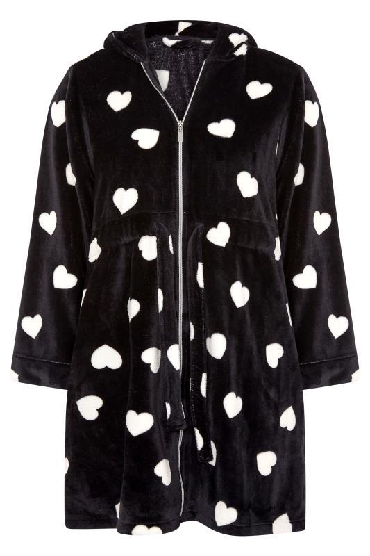 Black Heart Print Zip Dressing Gown_F.jpg