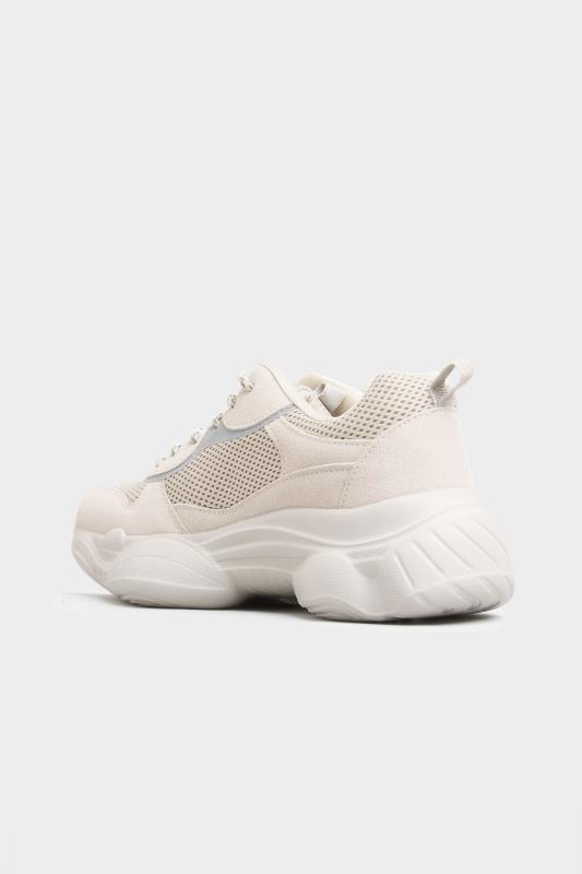 LIMITED COLLECTION Stone Mesh Lace Up Chunky Trainers In Regular Fit_C.jpg