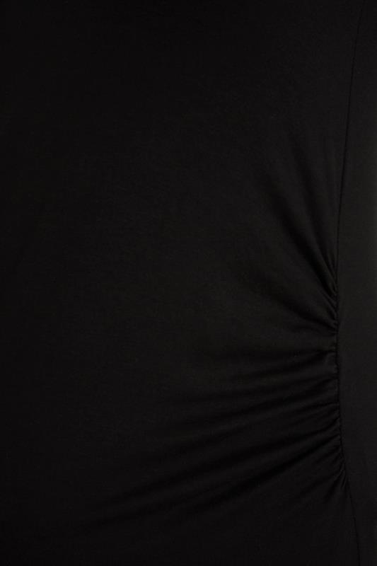 BUMP IT UP MATERNITY Black Sleeveless Maxi Dress_S.jpg