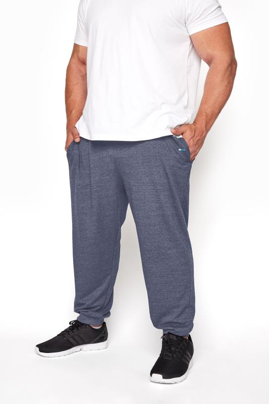 Men's Casual / Every Day BadRhino Denim Blue Essential Joggers