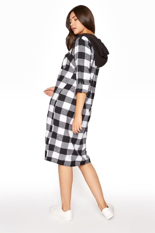 LTS Black Check Longline Hooded Shirt_D.jpg