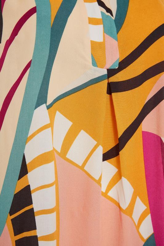 Beige Abstract Midi Dress_S.jpg