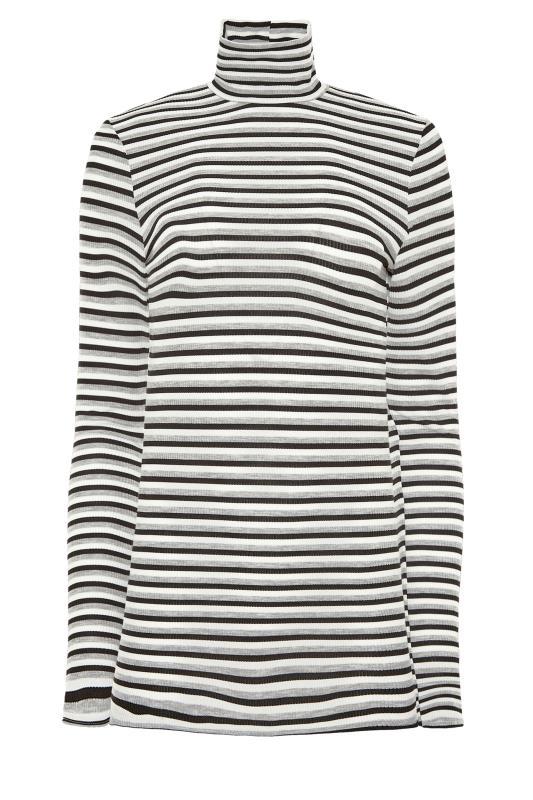 LTS Grey Stripe Ribbed Roll Neck Top_F.jpg