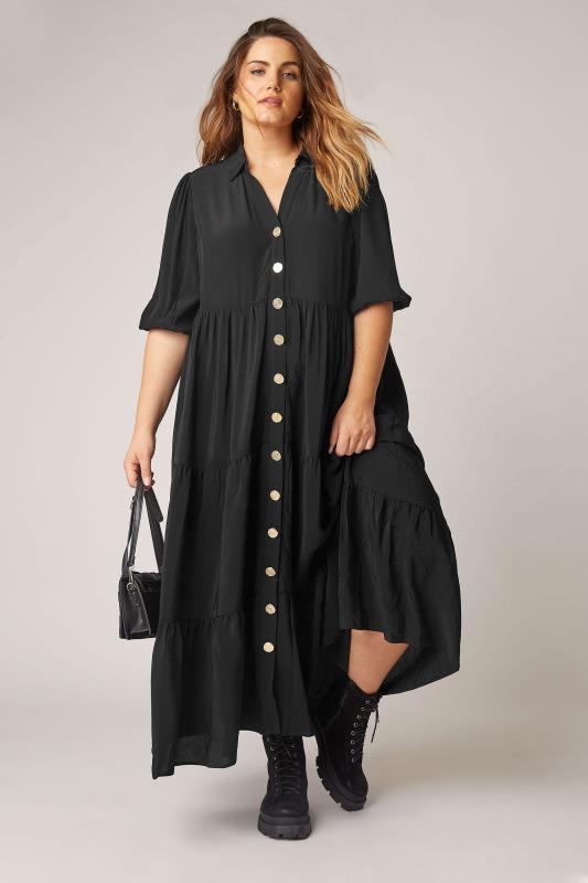 THE LIMITED EDIT Black Tiered Dress_B.jpg