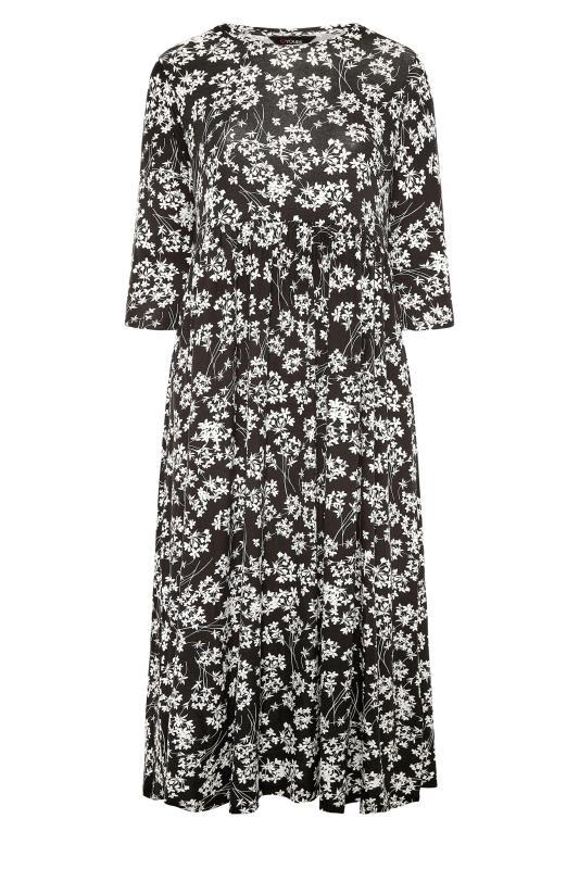 Black Floral Pocket Midaxi Dress_F.jpg