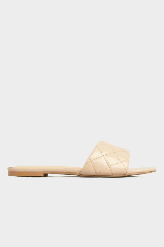 LTS Nude Quilted Square Flat Mule_A.jpg