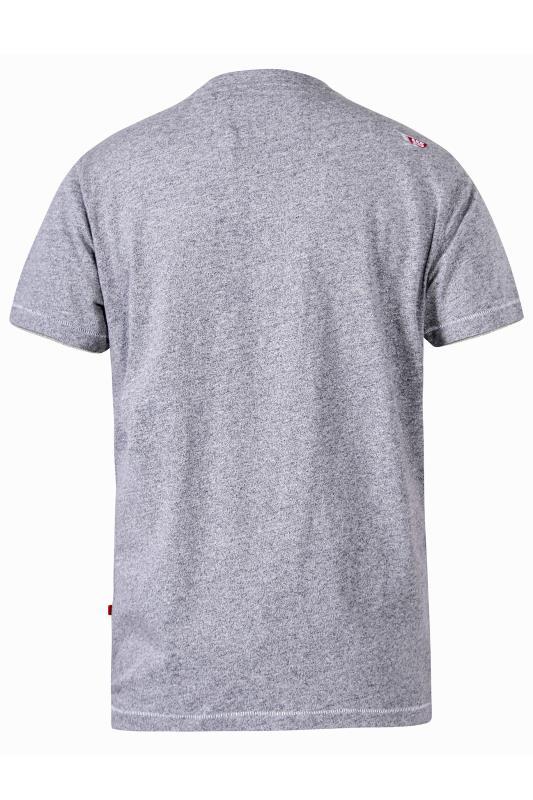 D555 Grey Camo Printed Graphic T-Shirt_bk.jpg