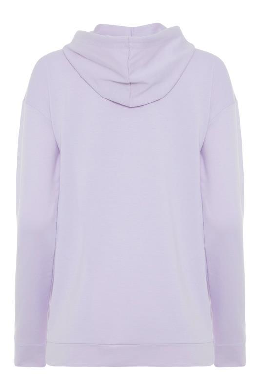 LTS Lilac Printed Zipper Hoodie_BK.jpg
