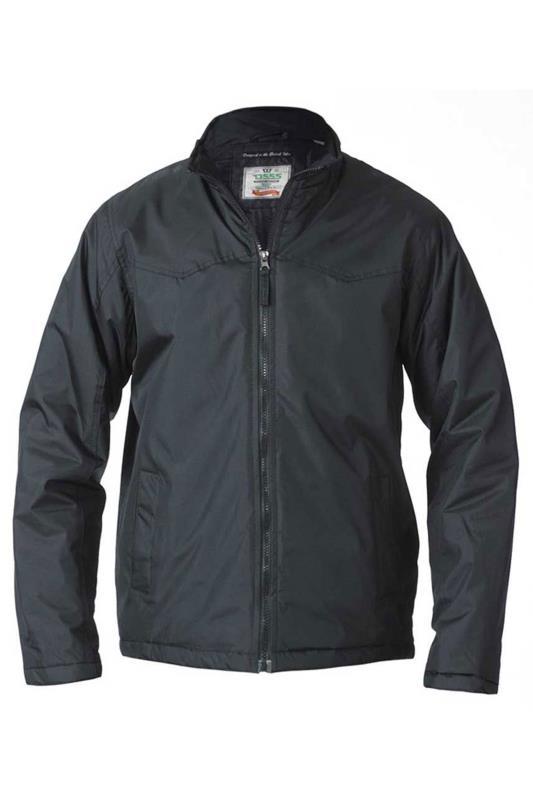 D555 Black Showerproof Light Padded Jacket