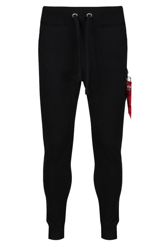 Casual / Every Day Grande Taille ALPHA INDUSTRIES Black X-FIT Slim Cargo Joggers
