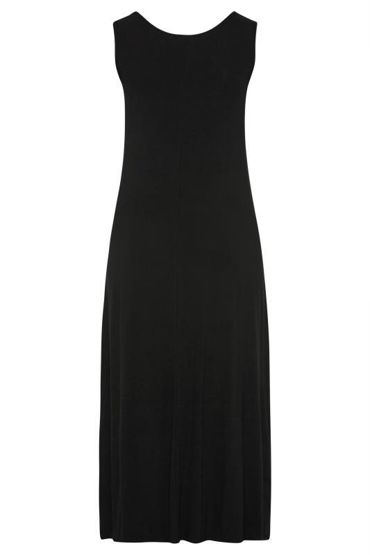 BUMP IT UP MATERNITY Black Sleeveless Maxi Dress_BK.jpg