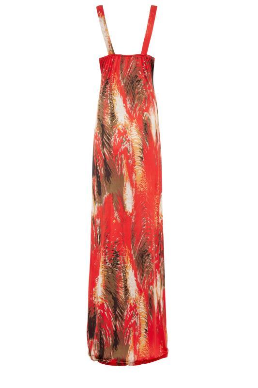 LTS Red Jersey V-Neck Maxi Dress_bk.jpg