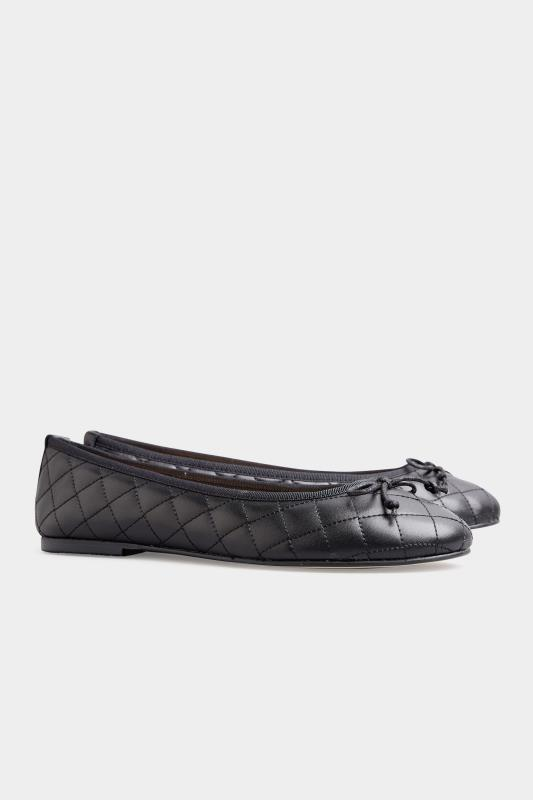 LTS Black Leather Quilted Ballet Pumps_C.jpg