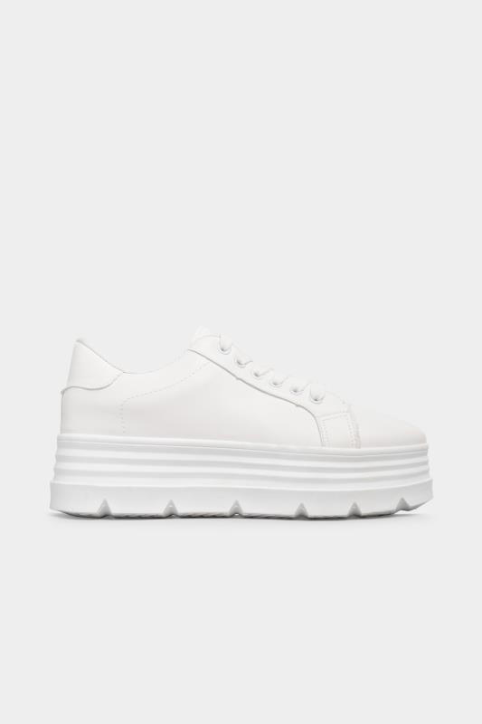 LIMITED COLLECTION White Platform Chunky Trainers In Regular Fit_A.jpg