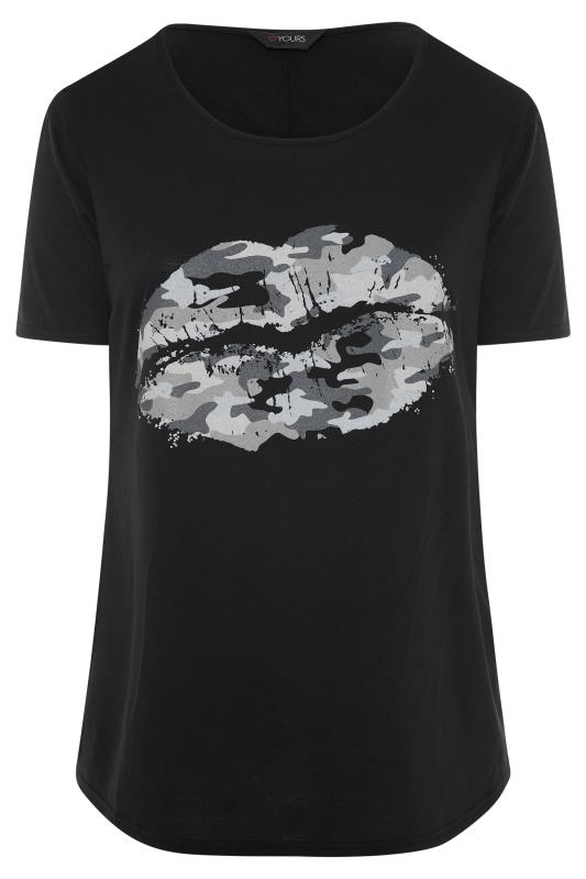 Black Camo Lips Boyfriend T-Shirt_F.jpg
