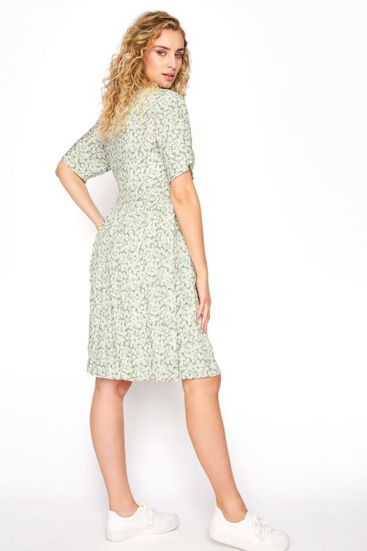 LTS Sage Green Floral Button Smock Tunic_C.jpg