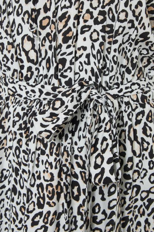 LTS White Animal Print Gathered Tie Front Maxi Dress_s.jpg