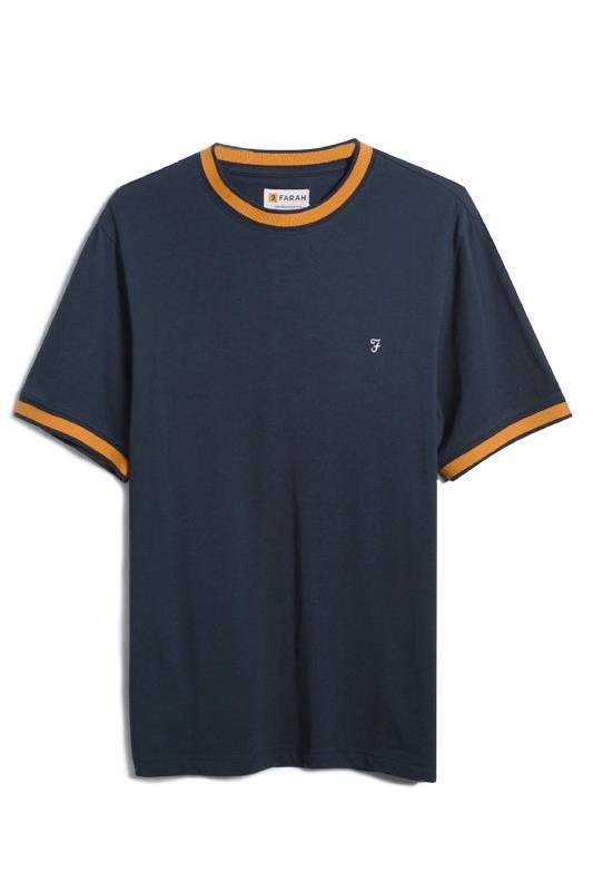 FARAH Navy Spruce T-Shirt_F.jpg