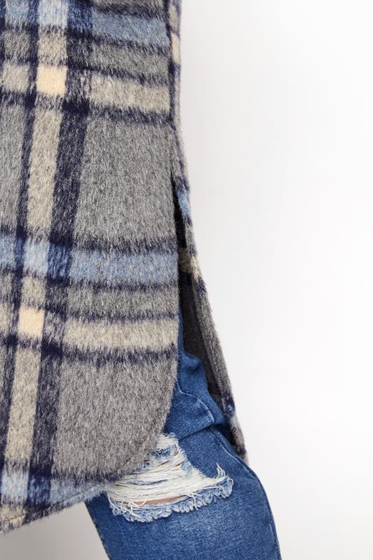 Grey Checked Midi Shacket_E.jpg