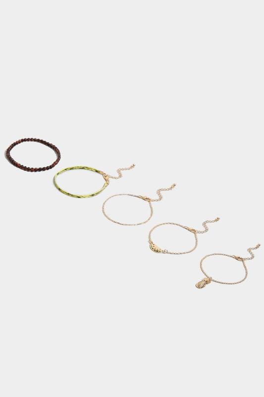 5 PACK Tropical Bracelets