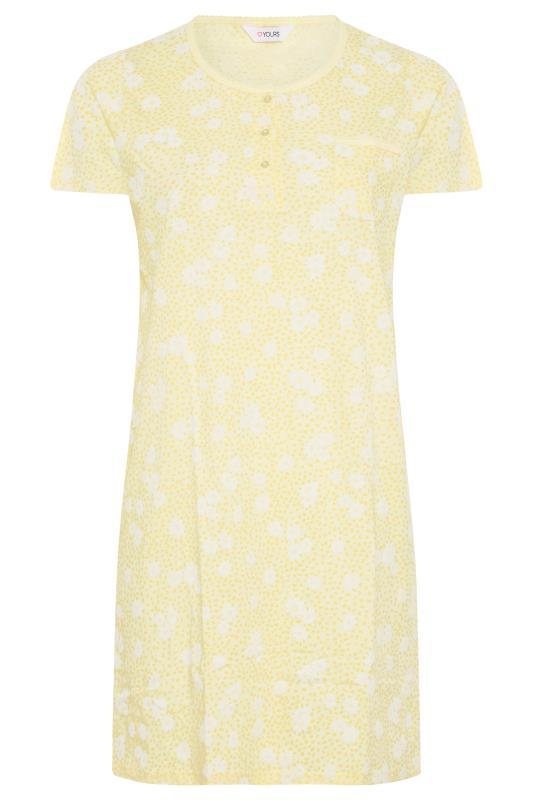 Yellow Daisy Placket Nightdress_F.jpg
