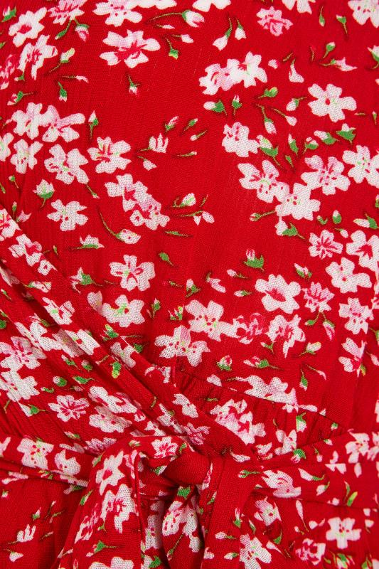LTS Maternity Red & Pink Floral Wrap Dress_S.jpg