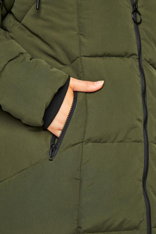 Khaki Hooded Puffer Maxi Coat_E.jpg