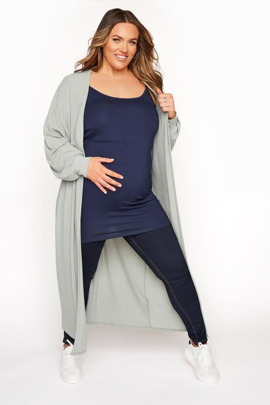 BUMP IT UP MATERNITY Navy Cami with Secret Support_C.jpg