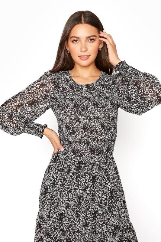 LTS Black Ditsy Long Sleeve Tiered Midi Dress_D.jpg