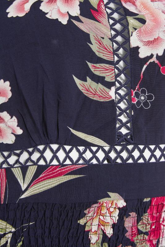 LTS Navy Floral Halter Neck Midaxi Dress_s.jpg