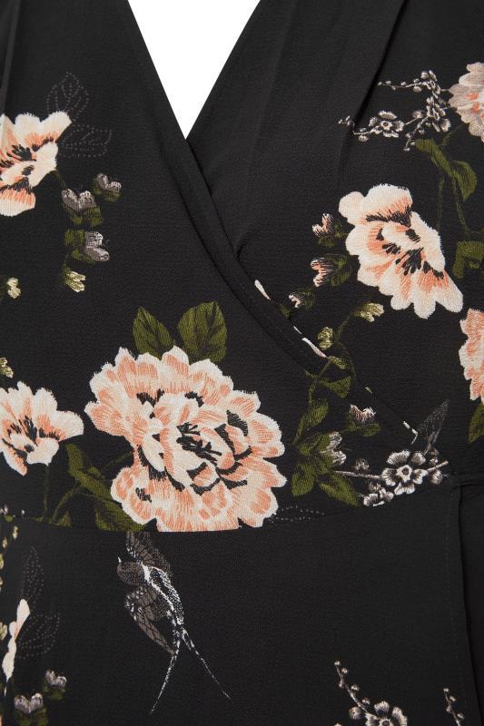 YOURS LONDON Black Floral Print Midi Dress_S.jpg