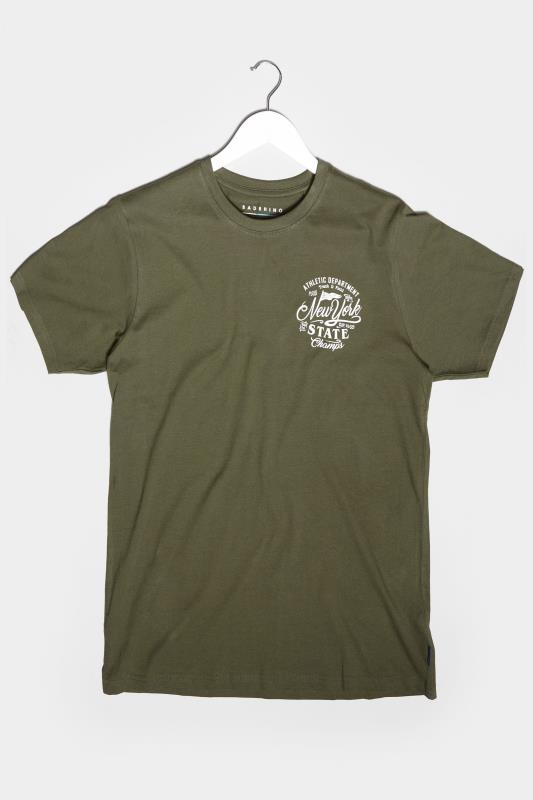 Men's Beauty BadRhino Khaki New York Champs T-Shirt