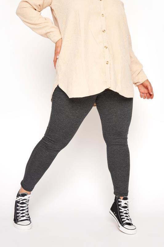 Grey Soft Touch Leggings