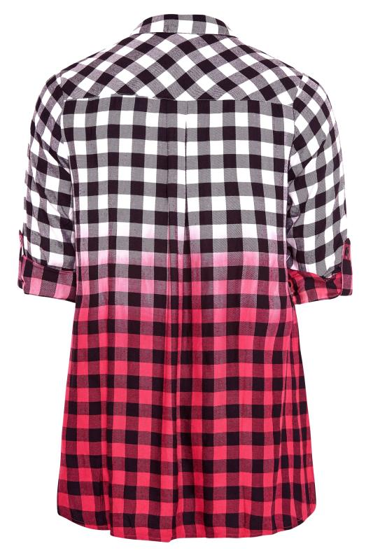 Pink Ombre Check Boyfriend Shirt_BK.jpg