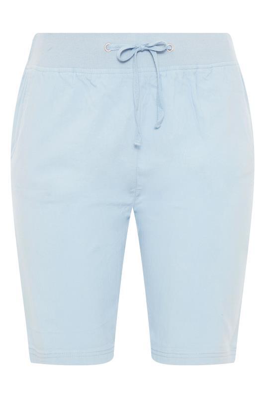 Pale Blue Cool Cotton Shorts_F.jpg