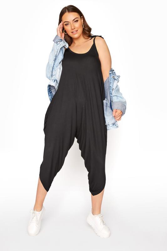 Black Harem Jersey Jumpsuit_B1.jpg