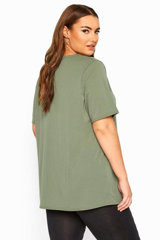 LIMITED COLLECTION Khaki 'The Best Is Yet To Come' Slogan Top