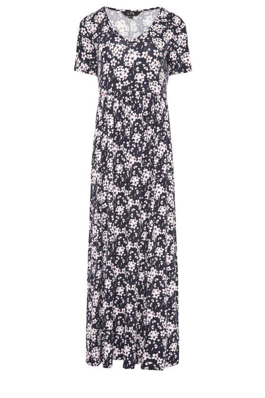 LTS Black Floral Print Midi Dress_F.jpg