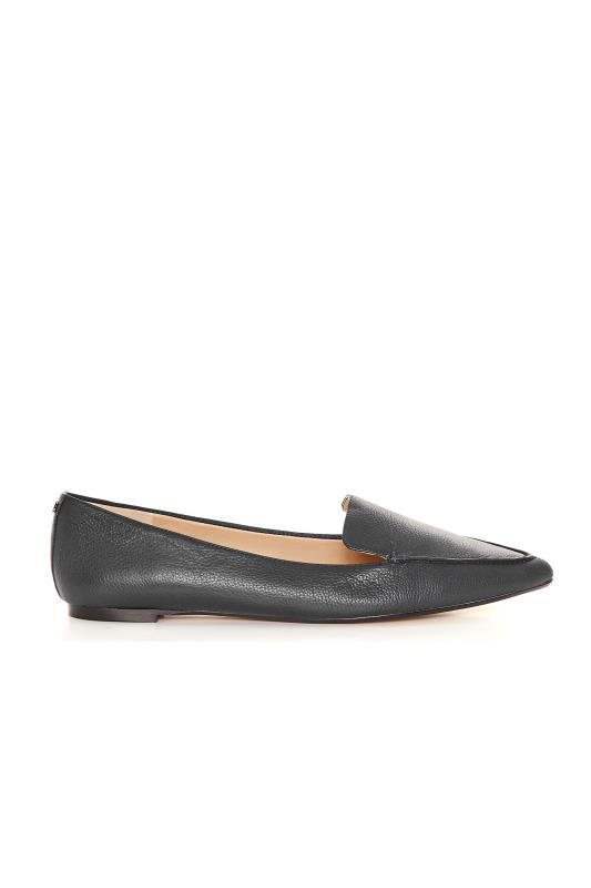 Tall  KARL LAGERFELD PARIS Black Leather Loafers