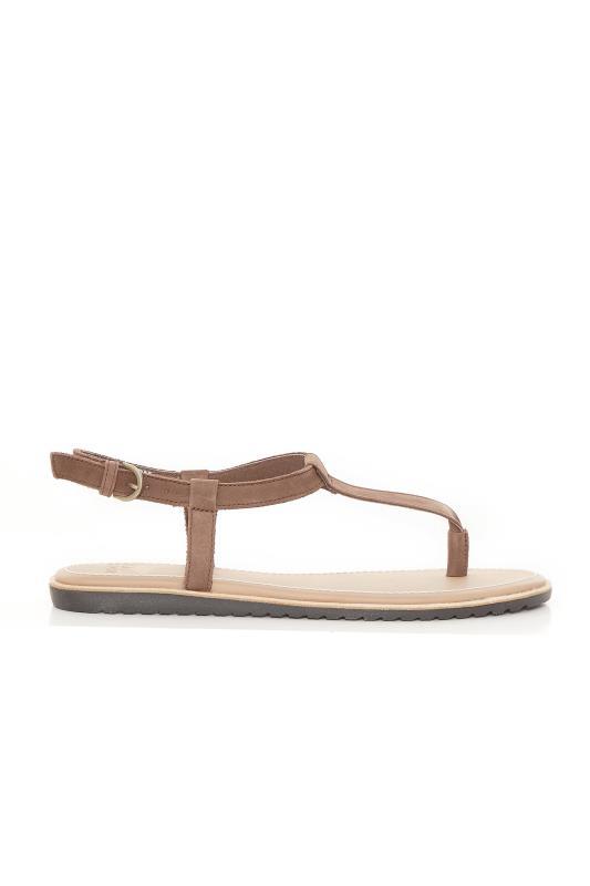 SOREL Brown T-Bar Sandals_A.jpg