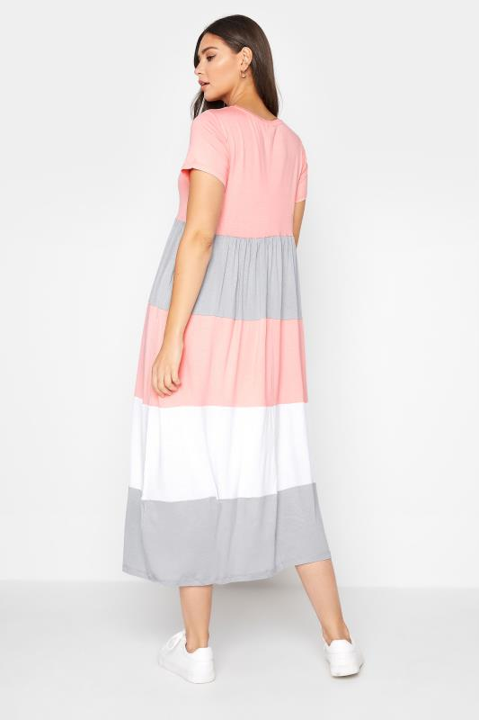 LTS Pink Colour Block Dress_C.jpg