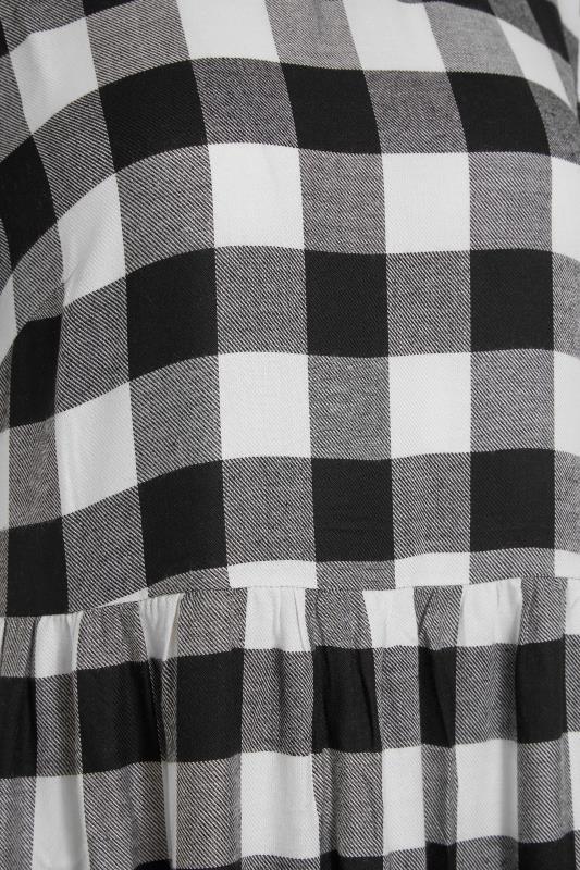 LTS Black Check Tiered Midaxi Dress_S.jpg