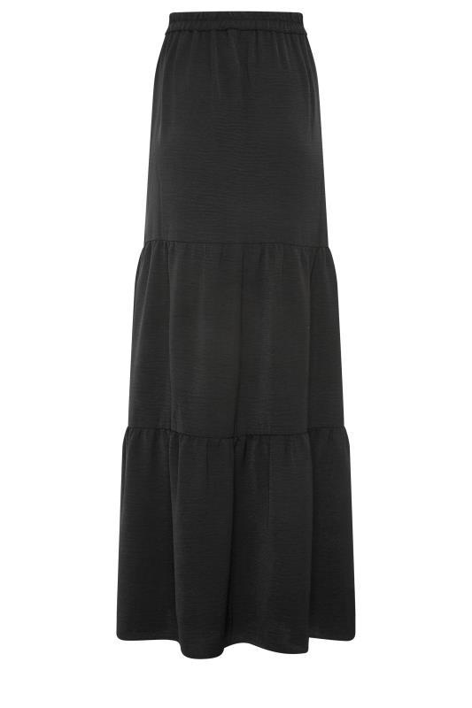 LTS Black Tiered Maxi Skirt_BK.jpg