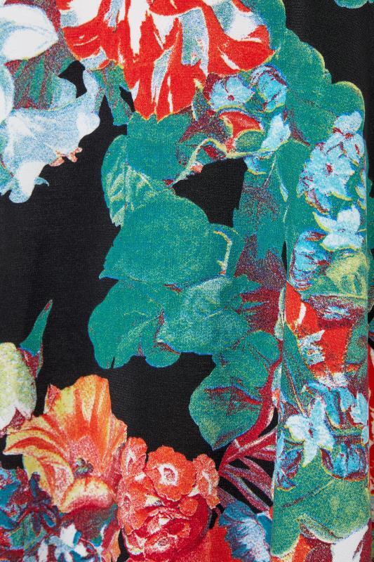 LTS Multi Floral Hanky Hem Sleeveless Dress_s.jpg