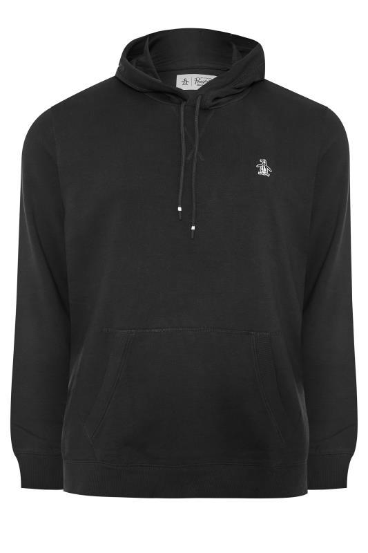 Plus Size  PENGUIN MUNSINGWEAR Black Logo Hoodie