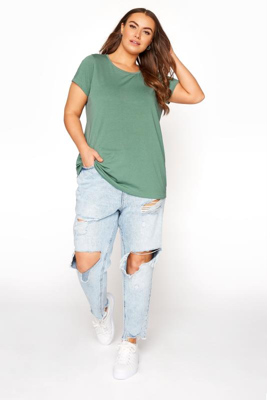 Sage Green Marl T-Shirt_B.jpg