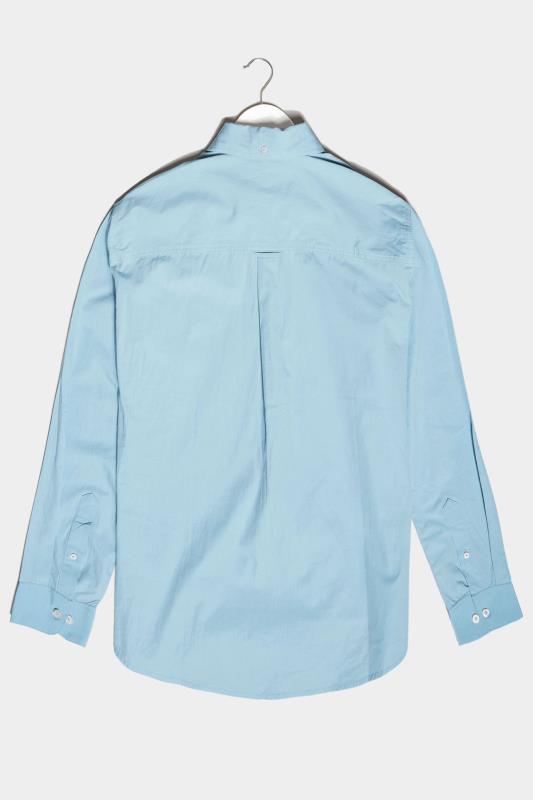 BadRhino Light Blue Essential Long Sleeve Oxford Shirt_BK.jpg
