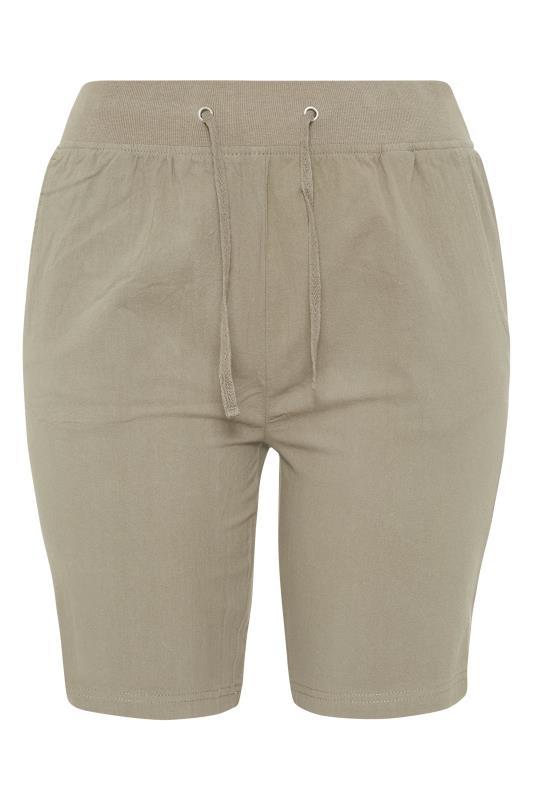 Khaki Cool Cotton Shorts_F.jpg